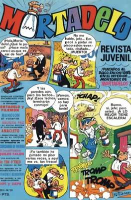 Mortadelo (1970) (Grapa) #31