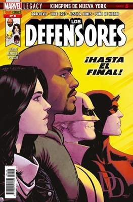 Los Defensores (2017- 2018) (Grapa 48 pp) #9