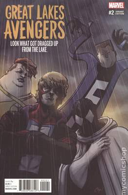 The Great Lakes Avengers Vol. 2 (Variant Covers) #2