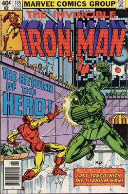 Iron Man Vol. 1 (1968-1996) (Comic book) #135