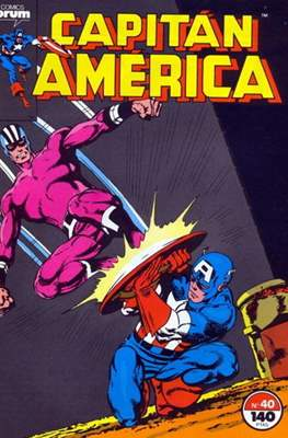 Capitán América vol. 1 / Marvel Two-in-one: Capitán America & Thor vol. 1 (1985-1992) (Grapa 32-64 pp) #40