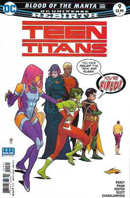 Teen Titans Vol. 6 (2016-2020) (Comic Book) #9
