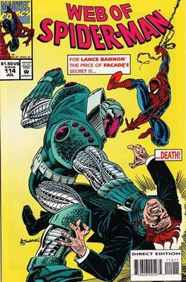 Web of Spider-Man Vol. 1 (1985-1995) (Comic-book) #114
