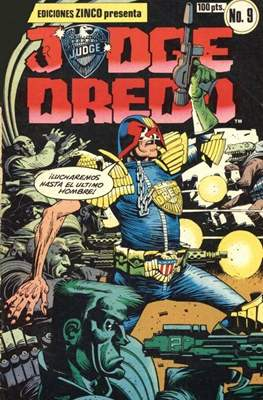 Judge Dredd (Grapa) #9