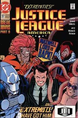 Justice League / Justice League International / Justice League America (1987-1996) (Comic-Book) #57