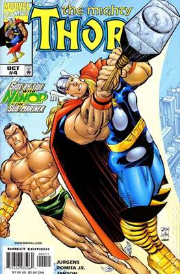 The Mighty Thor (1998-2004) #4