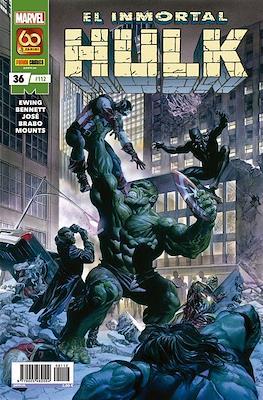 El Increíble Hulk Vol. 2 / Indestructible Hulk / El Alucinante Hulk / El Inmortal Hulk (2012-) #112/36