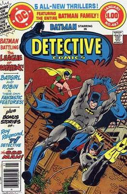 Detective Comics Vol. 1 (1937-2011; 2016-) (Comic Book) #487