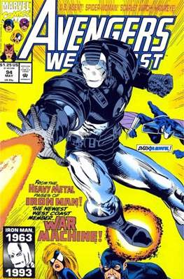 West Coast Avengers Vol. 2 (Comic-book. 1985 -1989) #94