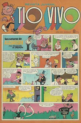Tio Vivo. 2ª época (1961-1981) (Grapa) #651