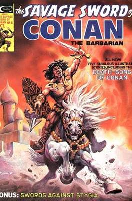 The Savage Sword of Conan the Barbarian (1974-1995) #8