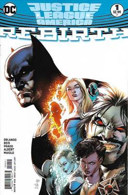 Justice League of America: Rebirth (2017) (Comic-book) #1