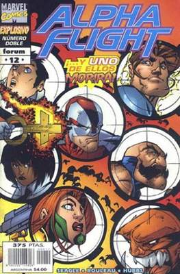 Alpha Flight Vol. 2 (1998-1999) (Grapa) #12