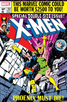 The Uncanny X-Men - Facsimile Edition (Comic Book) #137