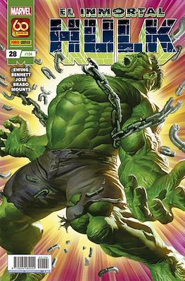El Increíble Hulk Vol. 2 / Indestructible Hulk / El Alucinante Hulk / El Inmortal Hulk (2012-) (Grapa) #104/28