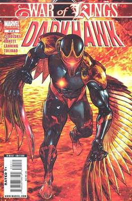War of Kings: Darkhawk Vol 1 (Comic Book) #2