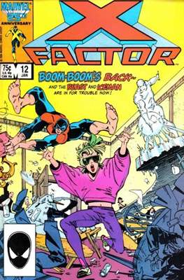 X-Factor Vol. 1 (1986-1998) (Comic Book) #12