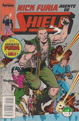 Nick Furia, Agente de SHIELD vol. 1 (1990-1991) (Grapa. 17x26. 32 páginas. Color. (1990).) #4