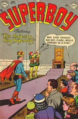 Superboy Vol.1 / Superboy and the Legion of Super-Heroes (Comic Book) #32