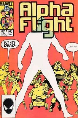Alpha Flight Vol. 1 (1983-1994) (Comic Book) #25