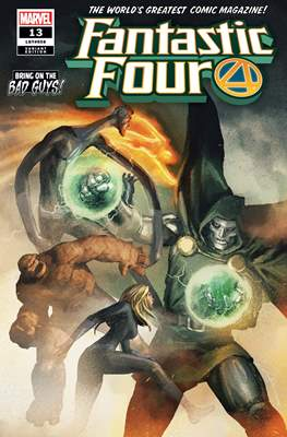 Fantastic Four Vol. 6 (2018- Variant Covers) (Comic Book) #13