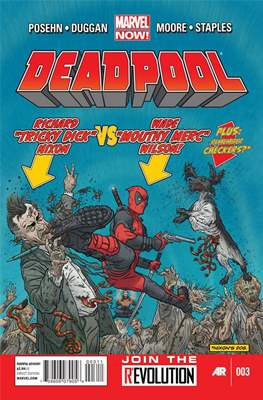 Deadpool Vol .3 (2013-2015) #3