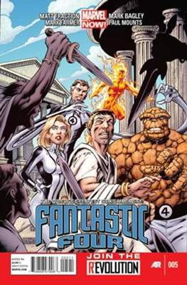 Fantastic Four Vol. 4 (Comic Book) #5