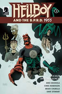 Hellboy and the B.P.R.D. (Comic-book) #19