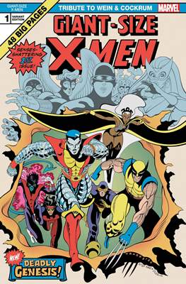Giant-Size X-Men: Tribute To Wein & Cockrum (Variant Cover) #1