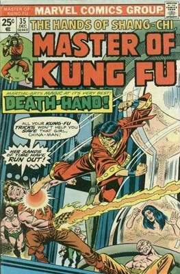 Master of Kung Fu (Comic Book. 1974 - 1983. Continued from Special Marvel Edition #16) #35