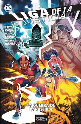 Liga de la Justicia: La Guerra de Darkseid (Rústica) #4
