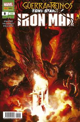El Invencible Iron Man Vol. 2 (2011-) (Grapa - Rústica) #107/8