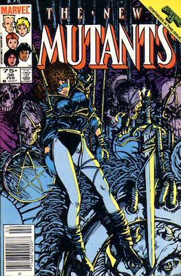 The New Mutants (Comic Book) #36