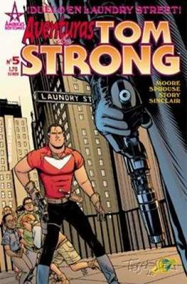 Aventuras de Tom Strong (2003-2004) (Grapa 24-32 pp) #5