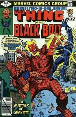 Marvel Two-in-One Annual (Comic Book. 1976 - 1982) #4