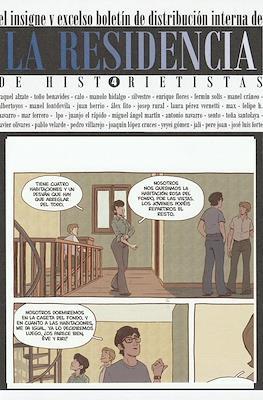 La residencia de historietistas (Grapa) #4