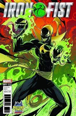 Iron Fist Vol. 5 (2017) Variant Covers (Comic-book) #1.5