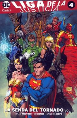 Liga de la Justicia (Rustica) #4