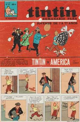 Tintin (Grapa 20 pags.) #22