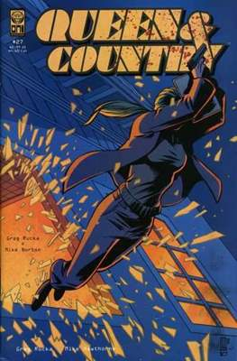 Queen & Country (Comic Book) #27
