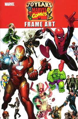 70 Years of Marvel Comics Frame Art