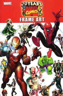 70 Years of Marvel Comics Frame Art