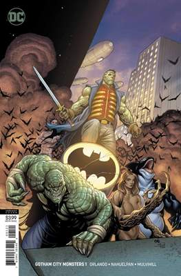 Gotham City Monsters (Variant Cover) (Comic Book) #1
