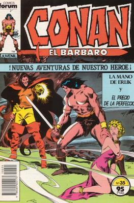 Conan el Bárbaro (1983-1994) (Grapa. 19x27. 36/32/24 páginas. Color.) #35