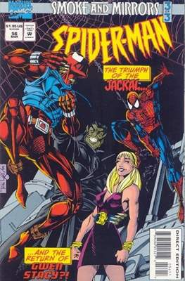 Spider-Man (Vol. 1 1990-2000) (Comic Book) #56