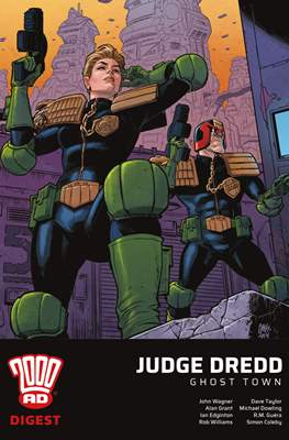 2000 AD Digest: Judge Dredd: Ghost Town