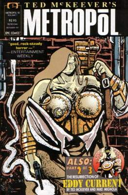 Ted McKeever's Metropol (Grapa) #10