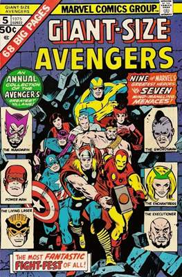 Giant-Size Avengers (1974-1975) (Comic Book) #5