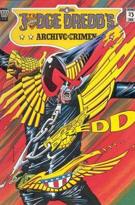 Judge Dredd`s. Archivo del crimen #4