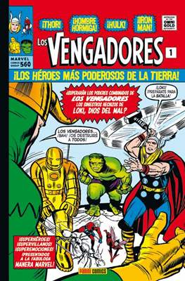 Los Vengadores. Marvel Gold. (Omnigold)
